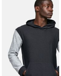 Outdoor Voices - Black Two-tone Upstate Hoodie for Men - Lyst