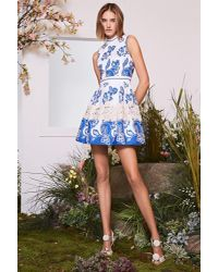 Alexis Blue Farah Dress Santorini