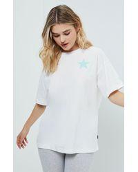 Converse White Star Smile T-shirt