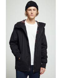Volcom Black Rovia Snow Jacket for men