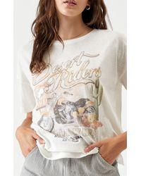 MINKPINK White Desert Riders T-shirt