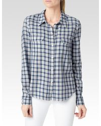 PAIGE | White Trudy Shirt | Lyst