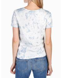 PAIGE - Blue Rosie Hw X Collection Cassandra Shirt - Lyst