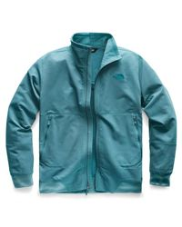The North Face Blue Tekno Ridge Full Zip Jacket – Mens for men