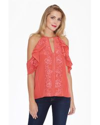 Parker - Pink Roma Blouse - Lyst