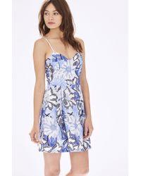 Parker - White Jacquel Dress - Lyst
