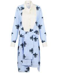 Loewe Blue Patterned Dress