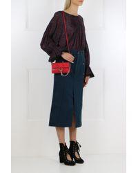 Chloé Faye Mini Bag Tulip Red