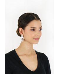 EK Thongprasert - Stepney Drop Earrings White/white Crystals - Lyst