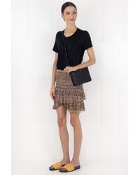 Isabel Marant Multicolor Etoile Earley Print Mini Skirt Multi