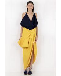 Jacquemus La Jupe Sol Skirt Yellow