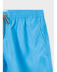 Paul Smith - Blue Short De Bain Homme Bleu Marine for Men - Lyst