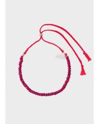 Paul Smith   Men's Red Chakra Bracelet   Lyst