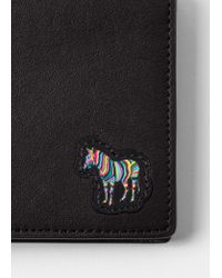 Portefeuille Billfold Noir 'Zebra' En Cuir Paul Smith pour homme en coloris Black
