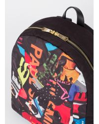 Paul Smith - Multicolor Sac À Dos 'Cycle Gloves' En Toile for Men - Lyst