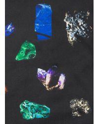 Pochette De Costume Noire 'Precious Stones' En Soie Paul Smith pour homme en coloris Multicolor