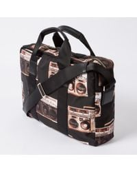Paul Smith - Multicolor Men's 'boom Box' Print Business Folio for Men - Lyst
