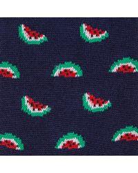 Paul Smith Blue Men's Navy Watermelon Socks for men