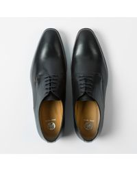 PS by Paul Smith Black 'moore' Plain Toe Derby for men