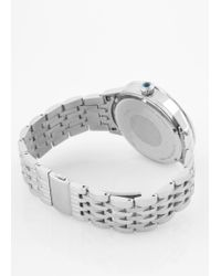 Paul Smith Metallic Men's Taupe And Silver 'precision' Watch for men