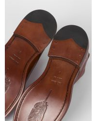 Paul Smith Brown Tan Calf Leather 'jarman' Boots for men