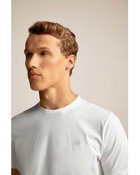 Pedrodelhierro Camiseta manga corta Pedro Del Hierro Madrid de hombre de color White