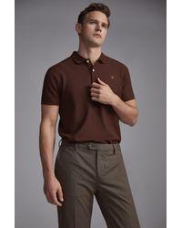 Pantalón chino premium flex microdibujo slim Pedro Del Hierro Madrid de hombre de color Brown