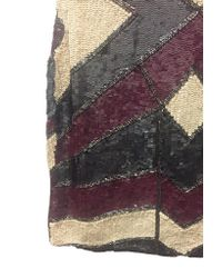 DIAMOND for EDEN Gray Gatsby Block Dress