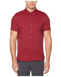 Perry Ellis Red Total Stretch Slim Fit Shirt for men