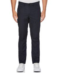 Perry Ellis Blue Slim Fit Lightweight Denim Jeans for men