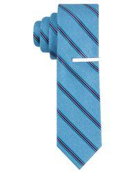 Perry Ellis - Blue Cadby Stripe Tie for Men - Lyst