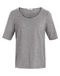 Peter Hahn Gray Shirt 1/2 arm größe