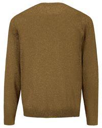 Louis Sayn Rundhals-Pullover gelb in Green für Herren