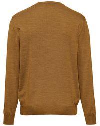Le pull pure laine vierge, modèle marco taille 46 Peter Hahn pour homme en coloris Natural