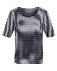 Peter Hahn Blue Shirt 1/2 arm größe