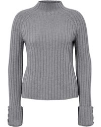 Le pull taille 48 include en coloris Gray