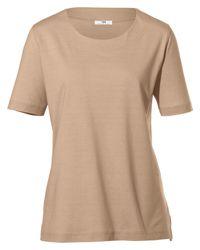 Peter Hahn Natural Rundhals-shirt 1/2 arm größe