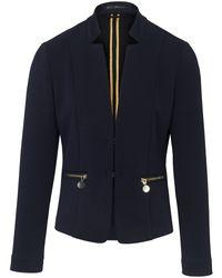 Betty Barclay Blue Jersey-blazer
