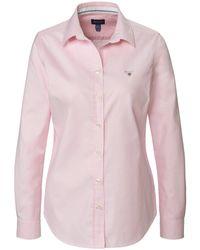 Gant Pink Bluse