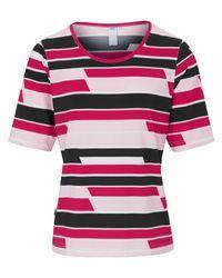 JOY sportswear Pink Rundhals-shirt carla