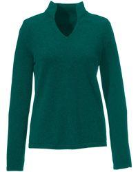 Peter Hahn Cashmere Green Pullover aus 100% premium-kaschmir modell vivien