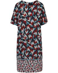 Gerry Weber Blue Kleid Gewebe »Kleid mit Saumbordüre«