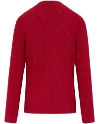 Uta Raasch Red Pullover