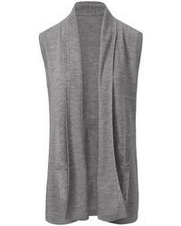 Le gilet 100% laine vierge biella yarn taille 38 Peter Hahn en coloris Gray