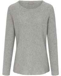 Le pull 100% cachemire taille 42 include en coloris Gray