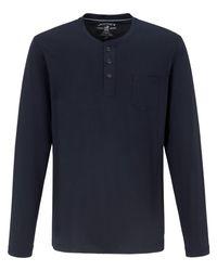 Jockey Schlaf-shirt in Blue für Herren