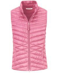 Le gilet taille 38 Betty Barclay en coloris Pink