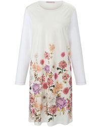 La chemise nuit 100% coton taille 38 Hautnah en coloris White