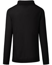 Le pull 100% cachemire include en coloris Black