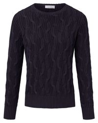 Looxent Blue Pullover aus 100% Supima®-Baumwolle blau